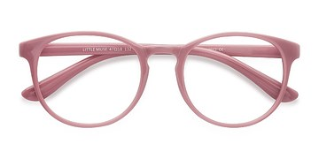 Pink Little Muse -  Colorful Plastic Eyeglasses