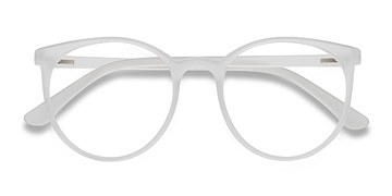 Matte Clear Portrait -  Plastic Eyeglasses