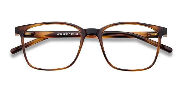 Black Brown Soul -  Plastic Eyeglasses