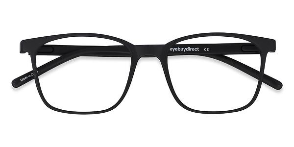 Black Plastic Glasses Frames Turning White : Soul Black Plastic Eyeglasses EyeBuyDirect