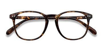Floral Record -  Colorful Plastic Eyeglasses