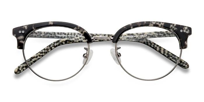 Gunmetal/Tortoise Annabel -  Designer Acetate Eyeglasses