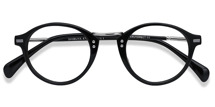 Black Shibuya -  Fashion Acetate Eyeglasses
