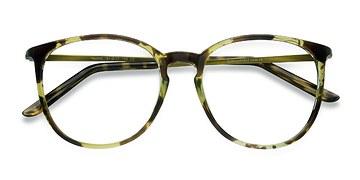 Tortoise Naomi -  Metal Eyeglasses
