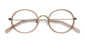 Light Brown Gemini -  Designer Acetate Eyeglasses