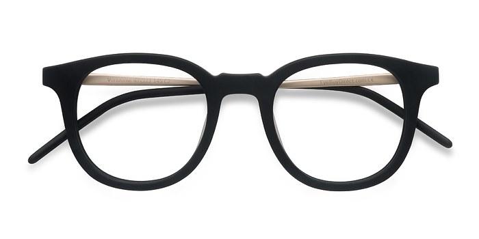 Matte Black  Vendome -  Geek Acetate Eyeglasses