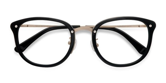 Black Sakura -  Designer Acetate Eyeglasses