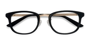Black First Light -  Designer Acetate Eyeglasses