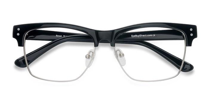 Black Benoit -  Acetate Eyeglasses