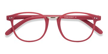 Matte Pink Miyoshi -  Colorful Metal Eyeglasses