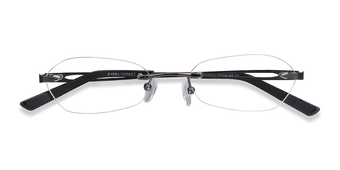 Gunmetal Summer -  Lightweight Metal Eyeglasses