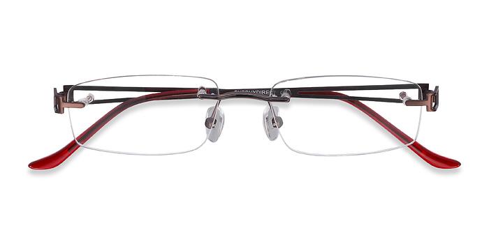 Brown Ottawa -  Lightweight Metal Eyeglasses
