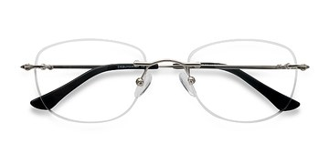 Silver Potential -  Lightweight Metal Eyeglasses