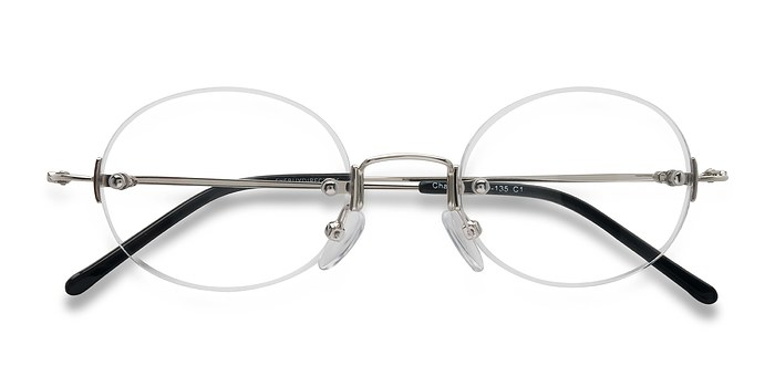 Silver Charm -  Lightweight Metal Eyeglasses