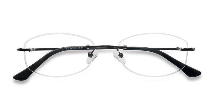 Black Duel -  Lightweight Metal Eyeglasses