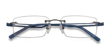 Gunmetal Quantum -  Lightweight Metal Eyeglasses