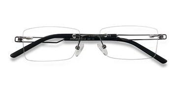 Gunmetal Jeremiah -  Lightweight Metal Eyeglasses