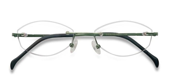 Green Exist -  Lightweight Metal Eyeglasses