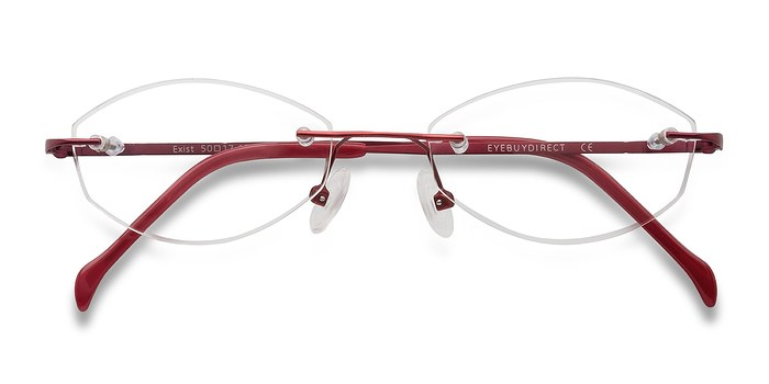 Red Exist -  Lightweight Metal Eyeglasses
