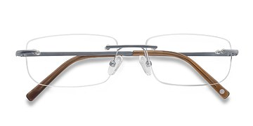 Gray Port -  Lightweight Titanium Eyeglasses