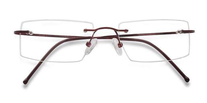 Red Divide -  Lightweight Titanium Eyeglasses