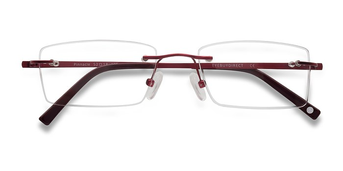 Red Pinnacle -  Lightweight Titanium Eyeglasses