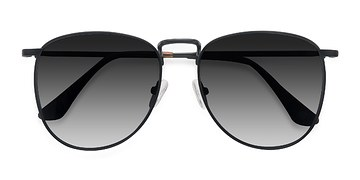 Black Fume -  Metal Sunglasses