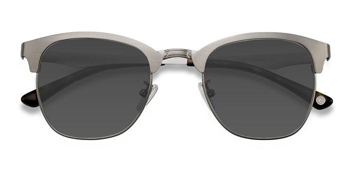 Gunmetal Veil -  Metal Sunglasses