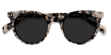 Gray/Tortoise Divine -  Vintage Plastic Sunglasses