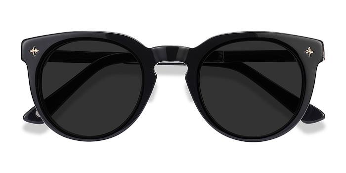 Navy Zoe -  Plastic Sunglasses