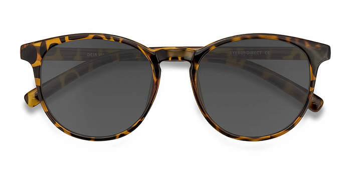 Brown/Tortoise Deja vu -  Plastic Sunglasses