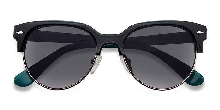 Black Carven -  Plastic Sunglasses