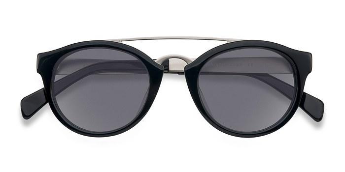 Black Enzo -  Acetate Sunglasses