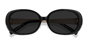Black Lauren -  Plastic Sunglasses