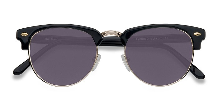 Black/Golden The Hamptons -  Vintage Acetate Sunglasses