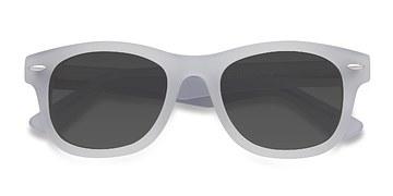 White Clear Hanoi -  Acetate Sunglasses
