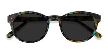 Green Tortoise Coppola -  Acetate Sunglasses