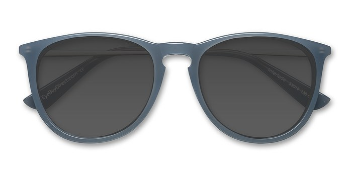 Blue   Interlude -  Acetate Sunglasses