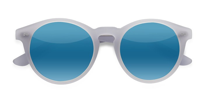 Matte Clear Havana -  Vintage Acetate Sunglasses