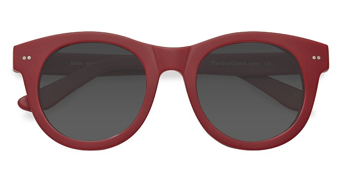 Matte Red Bikini -  Acetate Sunglasses