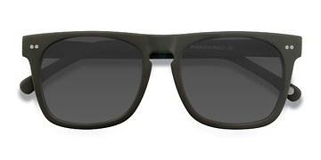 Matte Green Miami -  Acetate Sunglasses