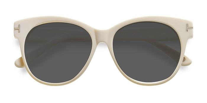 White Copa -  Acetate Sunglasses