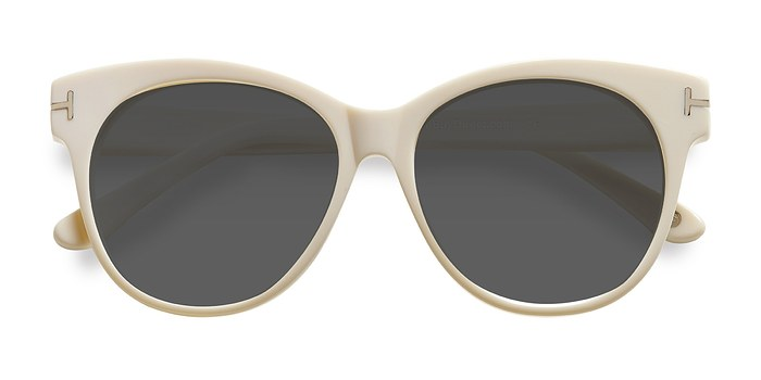 White Copa -  Acetate Sunglasses