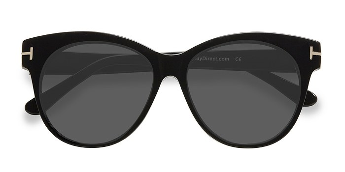 Black Copa -  Acetate Sunglasses
