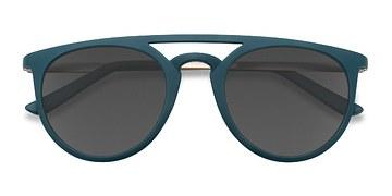 Matte Green Benicia -  Plastic Sunglasses