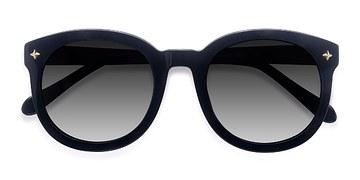 Black Paige -  Vintage Acetate Sunglasses