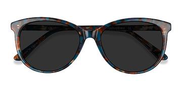 Floral Calypso -  Plastic Sunglasses