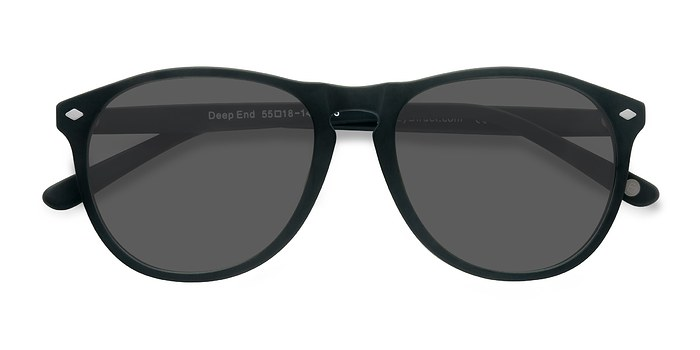 Matte Green  Deep End -  Acetate Sunglasses