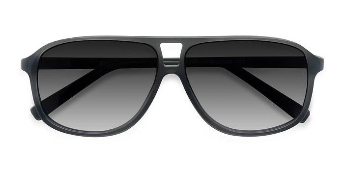 Matte Gray Bart -  Acetate Sunglasses