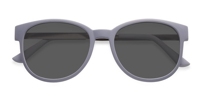 Matte Gray Terracotta -  Metal Sunglasses